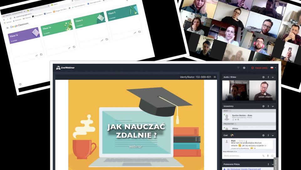 Wsparcie szkół wpracy on-line
